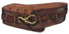 Vintage Belt for Women - Wide Leather Belt | The J. Peterman Company
