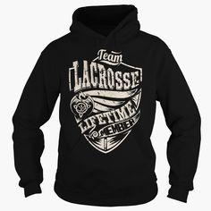 Team LACROSSE Lifetime Member (Dragon) - Last Name Surname T-Shirt