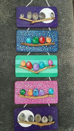 Pebbles art painting