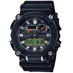CASIO+G-Shock+GA-900E-1A3+Orologio+Analogico-Digitale Casio G-shock, Casio Watch, G Shock Watches, Watches For Men, G Shock Men, New G Shock, Elapsed Time, Rugged Look, Face Design