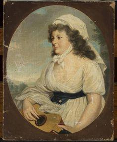 Josef Anton Kappeller, Portret hrabiny Esterhazy, 1800