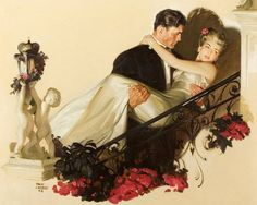 AMERICAN GALLERY Greatest American Painters Tom Lovell  Up The Staircase