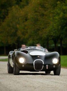 1953 Jaguar C-Type #jaguarclassiccars