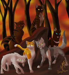 Hi everyone! So, for the first warrior cat contest you have to draw your favorites Dark Forest warrior!      Due: September 8th. Good luck!