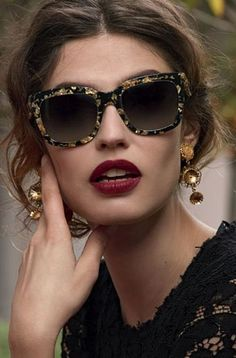 "As Italian as it comes:Dolce & Gabbana Eyewear. ...............My style statement: ""On matters of style, swim with the current, on matters of principle, stand like a rock."" ― Thomas Jefferson"