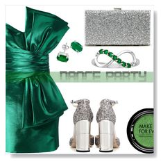 """""""Dance Party"""" by simona-altobelli ❤ liked on Polyvore featuring Yves Saint Laurent, Jimmy Choo, Sole Society, MAKE UP FOR EVER, MyStyle, danceparty and polyvorecontest"""