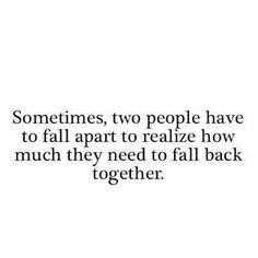 part and reunite