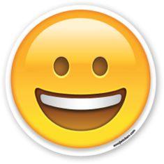 Grinning Face | Emoji Stickers