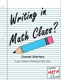 Use journaling in math class once each week- Friday warm-up or Thursday before the Friday quiz??