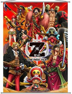 One Piece Film Z - Entertaining one piece. I feel Zed would have given Luffy a harder time if it had been the show instead of a movie.