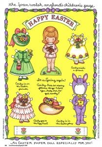 Easter doll ~ SO cute!