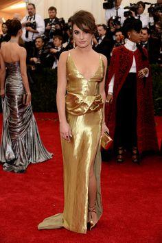 2014 #MetGala Fashion: Lea Michele in Altuzarra