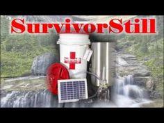 Survivors Bucket List Camping And Survival Gear Emergency Non Electric Water Distiller