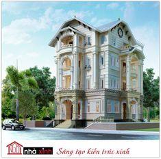 Thiết kế cổ điển dùng những mảng khối kiến trúc vững bền của những khối nhà liền mạch, nối tiếp nhau vươn cao.