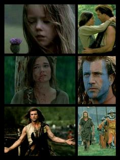 Braveheart...a tragic tale of revenge and redemption.