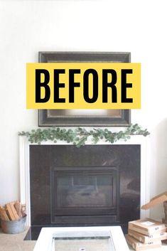 Fireplace Seating, Fireplace Shelves, Fireplace Remodel, Airstone Fireplace, Diy Fireplace, Diy Home Decor On A Budget, Handmade Home Decor, Diy Home Furniture, Diy Home Accessories