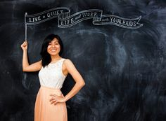Chalkboard Artist Dana Tanamachi (via Grey Likes Nesting)