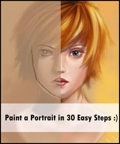 Portrait Painting Tutorial by *acidlullaby Resources & Stock Images / Tutorials / Photoshop	©2005-2012 *acidlullaby Hope you find this useful! *VERY helpful for digital artists-traditional artists will find some useful tips,too! Click through to download file! :) *