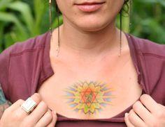 heart chakra tattoo image - Google Search