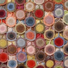 Love the colors in this Sophie Digard crocheted scarf
