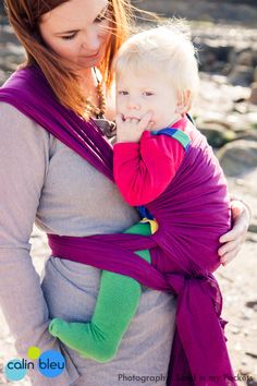 The stylish Amethyst cotton gauze baby wrap spreads the weight evenly around your back, both shoulders and hips Woven Wrap, Baby Wraps, Babywearing, Gauze Fabric, Purple, Pink, Amethyst, Turtle Neck, Colours