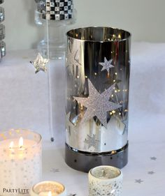 DIY la tête dans les étoiles - Atelier Déco la tête dans les étoiles #deco #etoile #PartyLite #atelier
