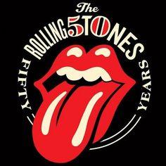 Pour le 50e anniversaire du groupe, l'artiste Shepard Fairey retouche le célèbre logo à la bouche pulpeuse. Ca claque !
