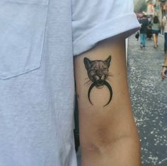 Panther tattoo by Sol Tattoo