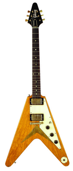Wow….the iconic Gibson Flying V is 56 years old….all those Guitar Gods like Jimi Hendrix, Michael and Rudolf Schenker, Johnny Wi...