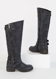 Alloy is the modern woman's destination for news and information on breaking entertainment news, fashion tips, health, and more. Girl Outfits, Fashion Outfits, Fashion Tips, Women's Motorcycle Boots, Find Girls, Boots For Sale, Shoe Boots, Shoes, Teen Fashion