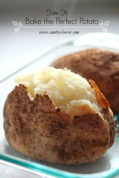 How-To :: Make the Perfect Baked Potato and Visiting Idaho Potato Producers