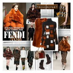 Trend Report Fendi by stylepersonal on Polyvore featuring polyvore, fashion, style, Fendi, fendi and trendreport