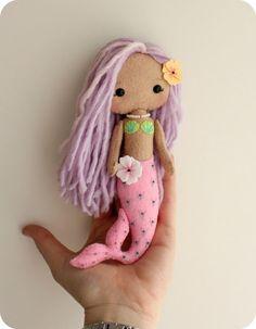 Gingermelon Dolls: Little Mermaid Girl