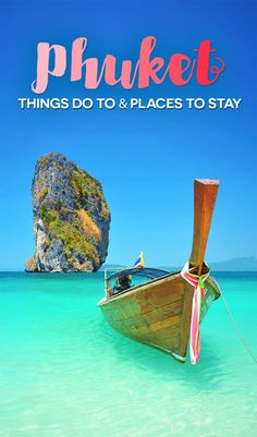 Island Hopping | Travel Guide To Phuket: Things To Do in Phuket And Places To Stay | Phuket offers natural beauty, rich culture, white beaches, tropical islands and plenty of adventure activities | via /Just1WayTicket/ | Photo © erandalx/Depositphotos