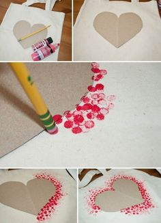 DIY heart design