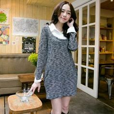Buy 'CatWorld – Inset Shirt Long Sweater' with Free International Shipping at YesStyle.com. Browse and shop for thousands of Asian fashion items from Taiwan and more!
