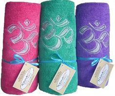 "I really need to invest in one of these ""No Slip"" yoga mat towels for HOT YOGA! <3"