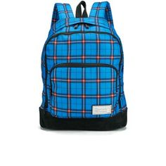 b570146b2ed8 Marc by Marc Jacobs Men s Printed Thomas Plaid Ultimate Directoire Backpack  - Blue Multi