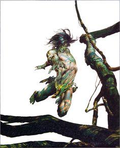 Neal Adams Portfolio Cover