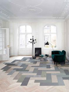 Silence Planks by Bolon | http://www.yellowtrace.com.au/australian-design-news-march-2014/