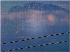 """'Wandkacheln """"Drahtseile und Berggipfel"""" ' von Rudolf Büttner bei artflakes.com als Poster oder Kunstdruck $18.71"""
