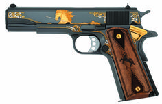 Honoring legendary American heroes & historic events with limited edition Rampant Colt Tribute Pistols and commemorative rifles from America Remembers. Weapons Guns, Guns And Ammo, Home Defense, Self Defense, Revolver Pistol, Revolvers, Colt 1911, Tac Gear, Shooting Guns
