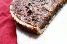 """Scottish Ecclefechan tart, from a recipe by Jamie Oliver in """"Jamie's Great Britain"""" Welsh Recipes, Scottish Recipes, Uk Recipes, Tart Recipes, British Recipes, English Recipes, Cooking Recipes, Scottish Desserts, Scottish Dishes"""