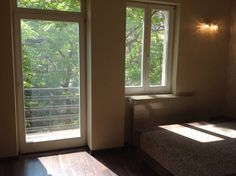 View from guest bathroom to a quiet inner courtyard