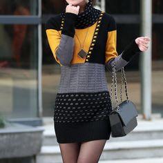 rochie pulover impletita groasa pret rochie pulover impletita ieftine Cauta acum Haine online ieftine si de firma din magazinele online de haine! Fashion, Moda, Fashion Styles, Fasion