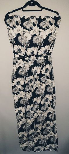 9033bbbeca8 Extra Off Coupon So Cheap Next Black And White Floral Jumpsuit size 10 long