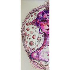#sketch #dailysketch #illustrate #pink #style #neon