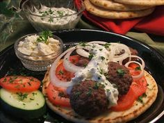 Easy Ground Beef Gyros