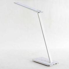 HOLMEN__La más completa lámpara de escritorio multifunción con cargador inalámbrico IQ.