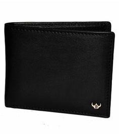 Designs Black Leather Formal Wallet_Wallets50